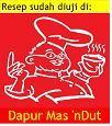 tested @ dapur mas ndut