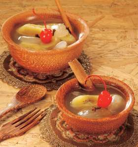 setup pisang kolang kaling